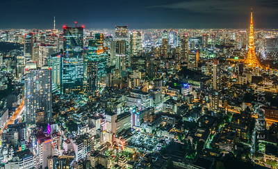 Roppongi, Asakasa and Tokyo Skytree 7