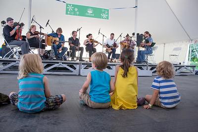 Kids Enjoying The New World Festival