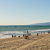 Santa Monica Beach Panorama