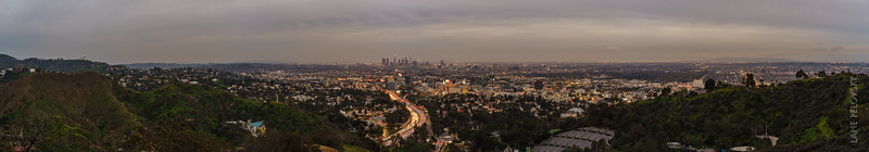 Los Angeles Skyline Panorama