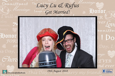 Hereford Photo booth hire at Lyde Court