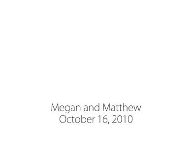 Megan + Matt matted album 3