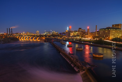 Mill City and Stone Arch