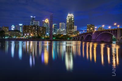 Minneapolis at Twilight