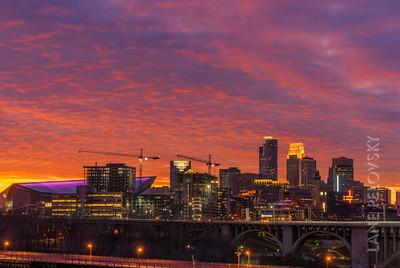Skies of Minneapolis