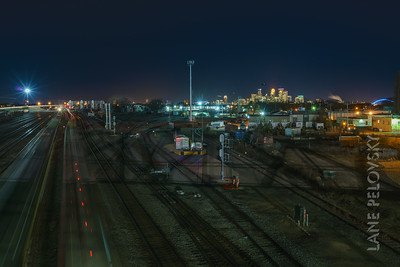 Minneapolis Train Yards
