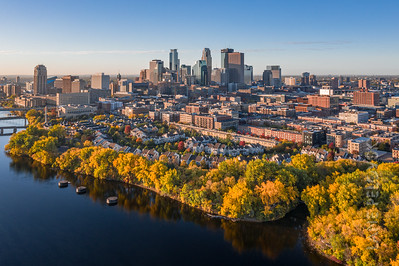 Downtown Minneapolis - North Loop Fall