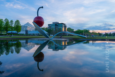 Minneapolis Sculpture Garden - Spoonbridge and Cherry