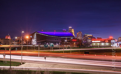 Downtown Minneapois - Prince Tribute