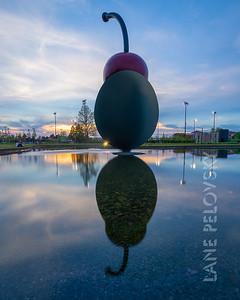 Minneapolis Sculpture Garden - Spoonbridge and Cherry