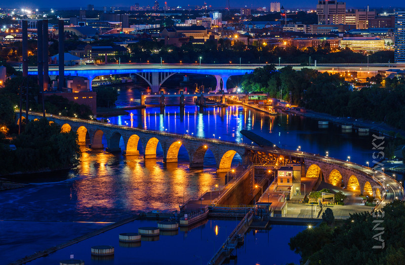 Stone Arch and 35W