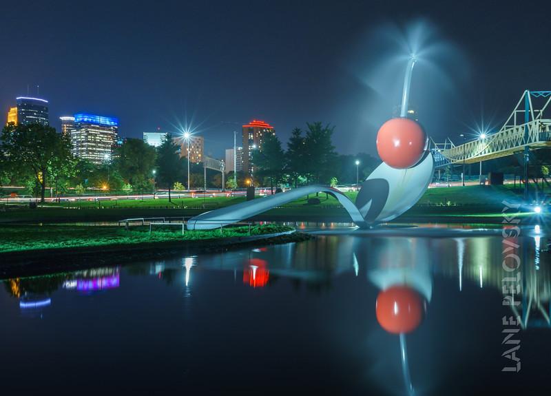 Sculpture Garden - Skyline Reflected
