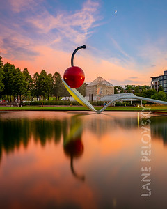 Spoonbridge and Cherry - Walker Sculpture Garden