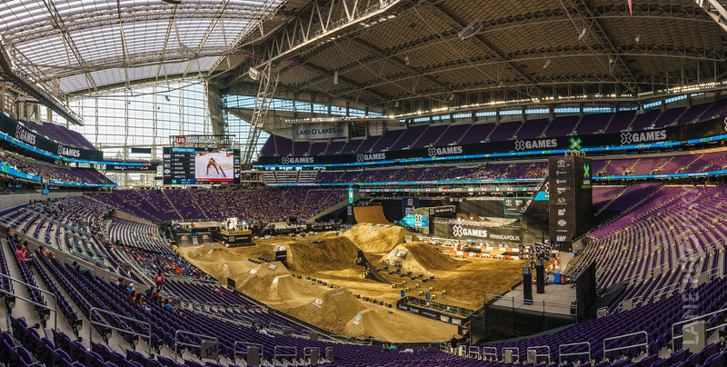 X Games Minneapolis - South West Panorama