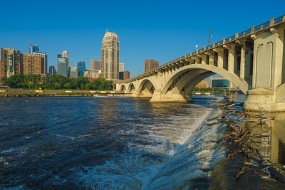 St. Anthony Falls and Mississippi 2
