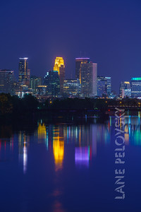 Minneapolis Blue Reflections