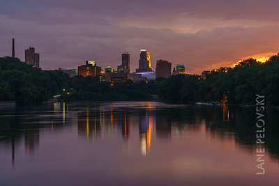 Minneapolis Rainy Splendor - After