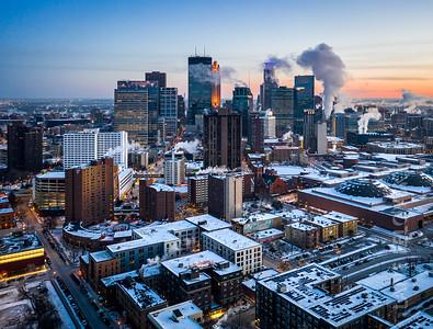 Winter Vortex In Minneapolis 2