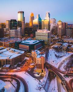Minneapolis Winter North