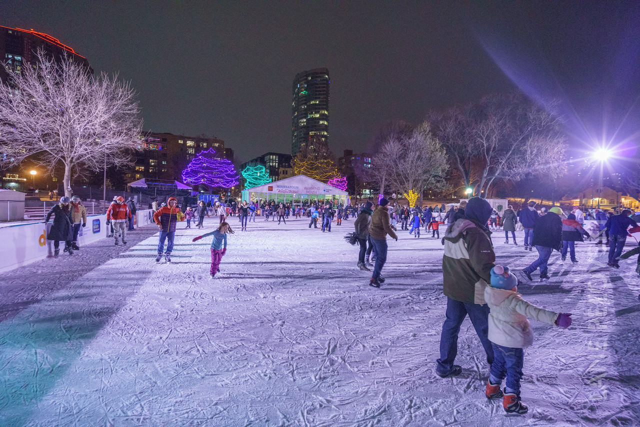 2017 Holidazzle in Minneapolis, MN, USA.