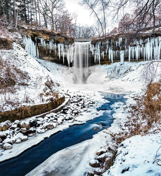 Minnehaha Falls - Twisty Creek