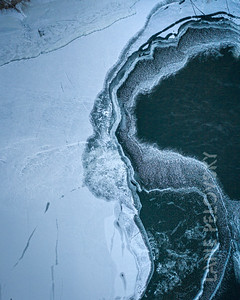 Mississippi River Ice