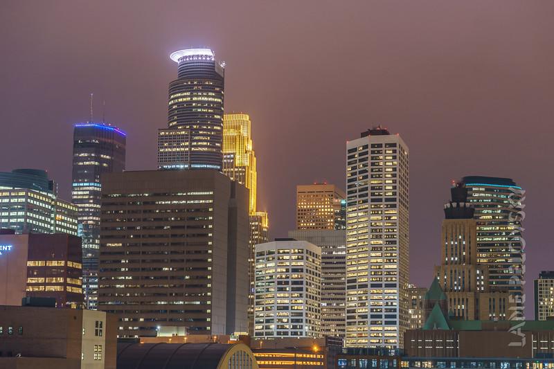 Minneapolis - Skyline Closeup