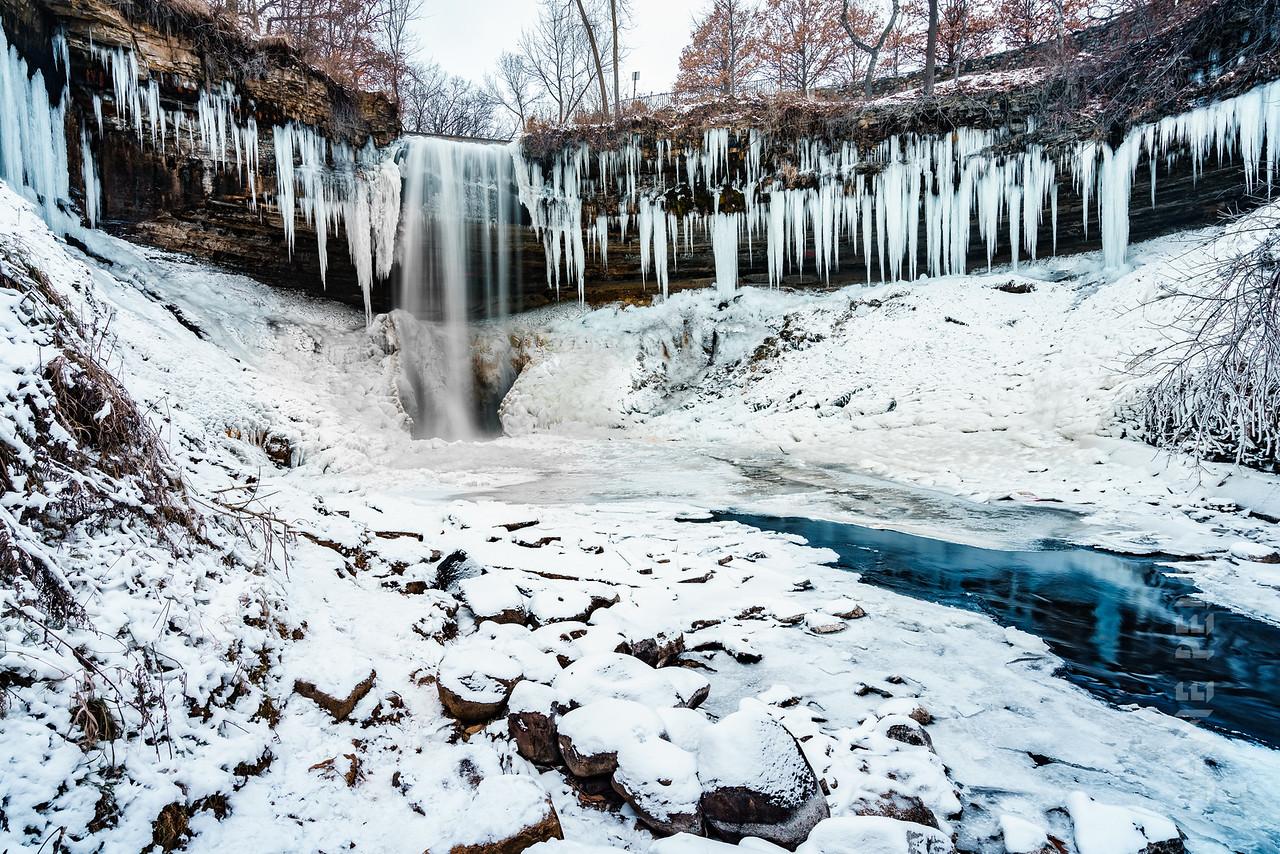 Minnehaha Falls - Frozen Wonder