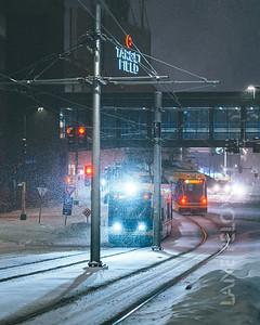 Light Rail at Target Field