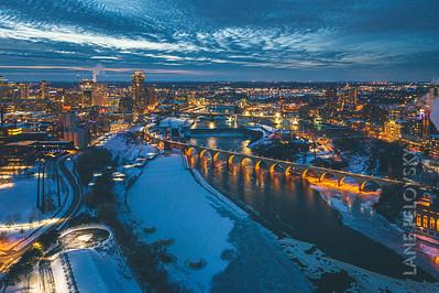 Mississippi Winter Bridges