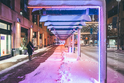 Nicollet Mall - Winter color