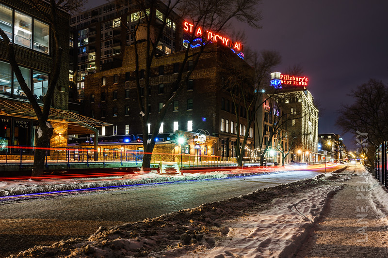 St. Anthony Main in the Winter