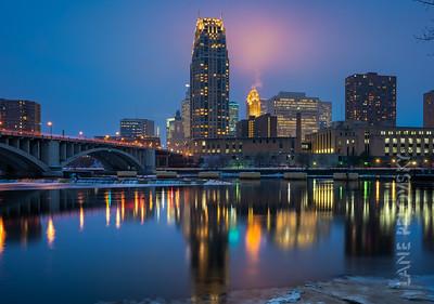 Downtown Minneapolis, MN, USA. 2018.