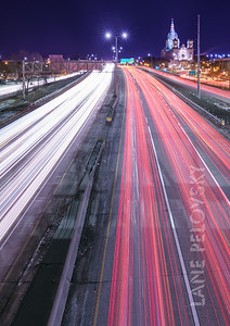 City Light Trails