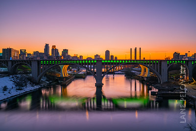 St. Patricks Day - Green City