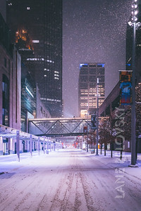 Nicollet Mall Winter