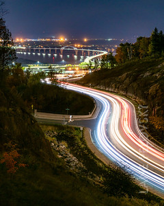 Piedmont Light Trails