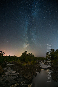 Rivers and Milky Way