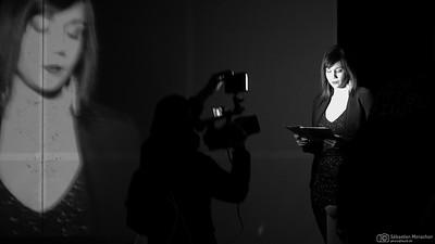 """""""Modeste contribution"""" de Dominique Wittorski - compagnie """"Démarre Tôt"""" - MeS Cédric Adrover - Salle des Hospitalières - Porrentruy - 18 janvier 2015"""