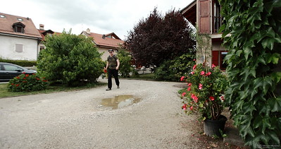 Yves Bolognini - Marche des 10 ans du Musée Bolo - EPFL-->Collex-Bossy - 25 août 2012