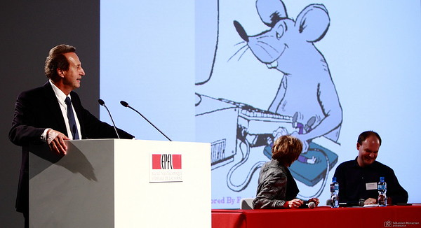Daniel Borel - Inauguration du Musée Bolo - EPFL - Lausanne - 9 novembre 2011