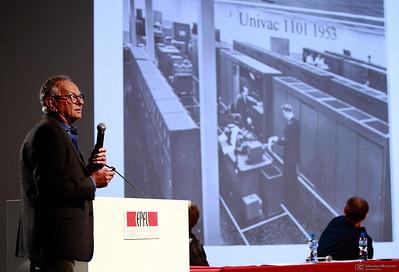 Jean-Daniel Nicoud - Inauguration du Musée Bolo - EPFL - Lausanne - 9 novembre 2011