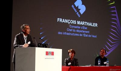 François Marthaler - Inauguration du Musée Bolo - EPFL - Lausanne - 9 novembre 2011