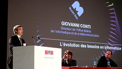 Giovanni Conti - Inauguration du Musée Bolo - EPFL - Lausanne - 9 novembre 2011