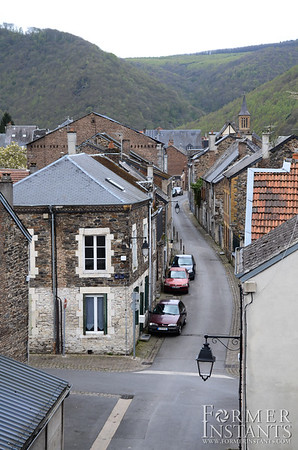 Gently Winding Village Street