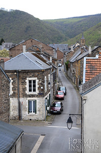 Gently Winding Village Street