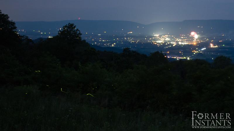 Fireworks & Fireflies II