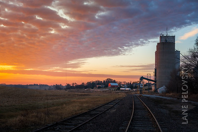 Incredible Sunrise - Silos