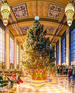 Durham Museum at Union Station Christmas