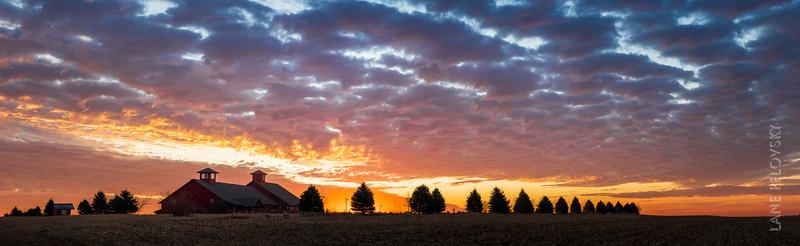 Incredible Sunrise - Panorama